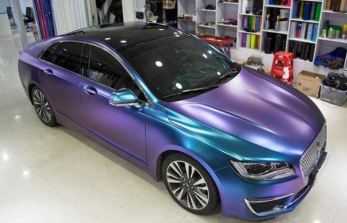 环美亚:汽车贴膜改色,畅享炫彩人生